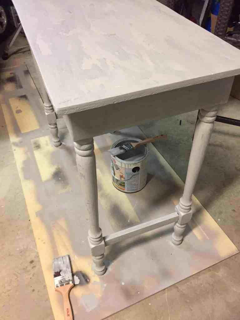 A vintage desk makeover
