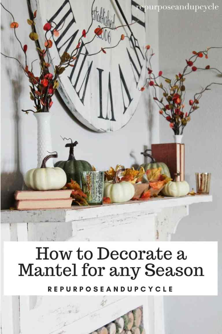 How to Decorate a Mantel for any Season