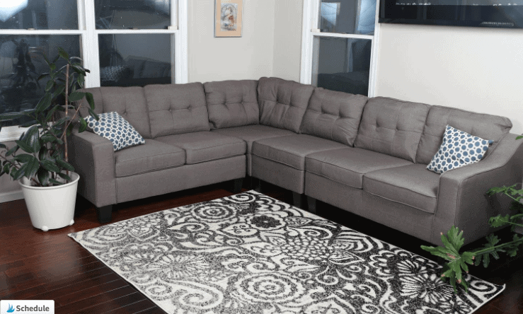 Affordable Farmhouse Style Sofas And Sectionals For Under 1000