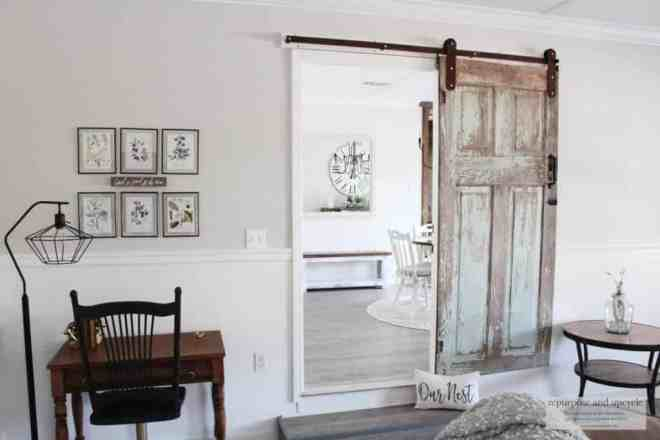 chippy antique door