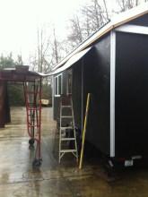 Rain or shine this trim will go up.