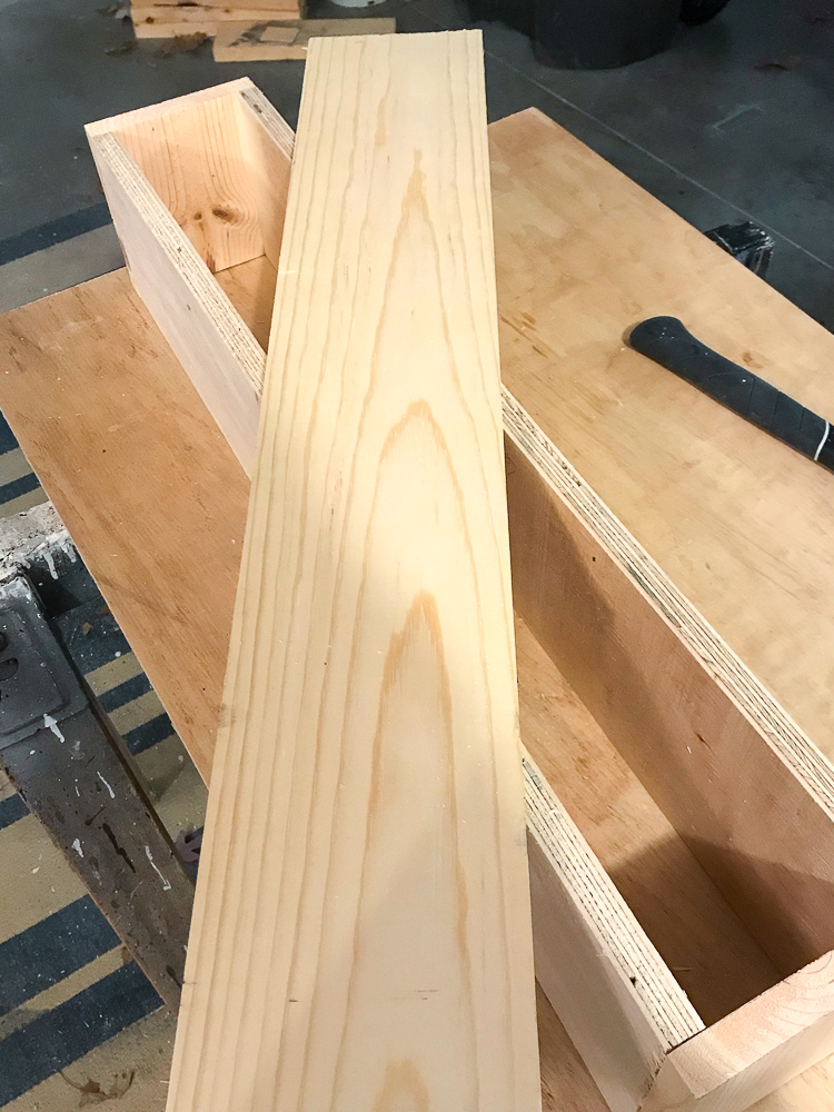 boards on top of one another