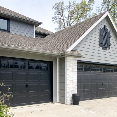 Easily Update Garage Doors to Carriage Doors for Instant Curb Appeal