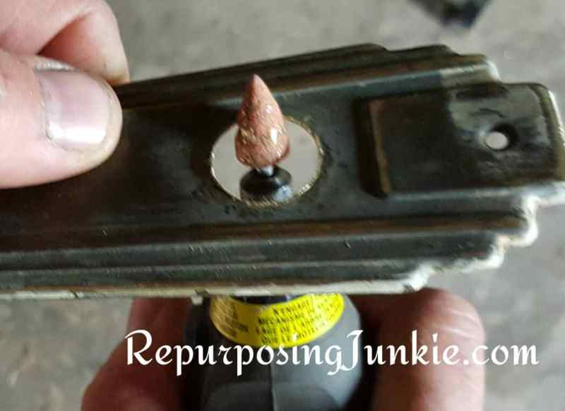 Toilet Paper Holder from Repurposed Materials, Lighting Fixture, Plumbing Parts, Lumber