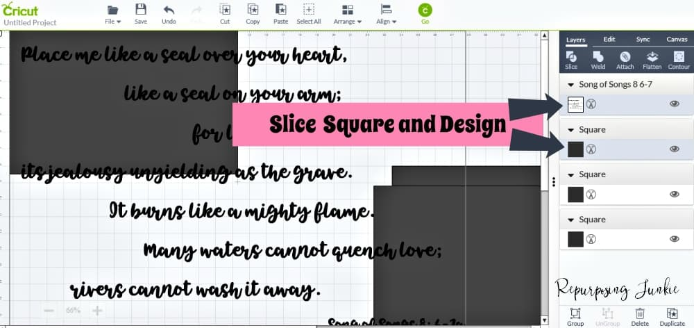 How to Make Extra Large Oversized Stencils in Cricut Design Space-Meeting and Overlapping Methods