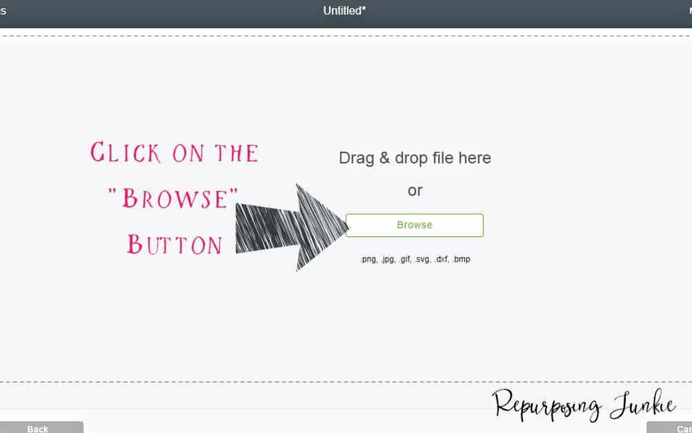 Making JPEG Files into Cut Files in Cricut Design Space