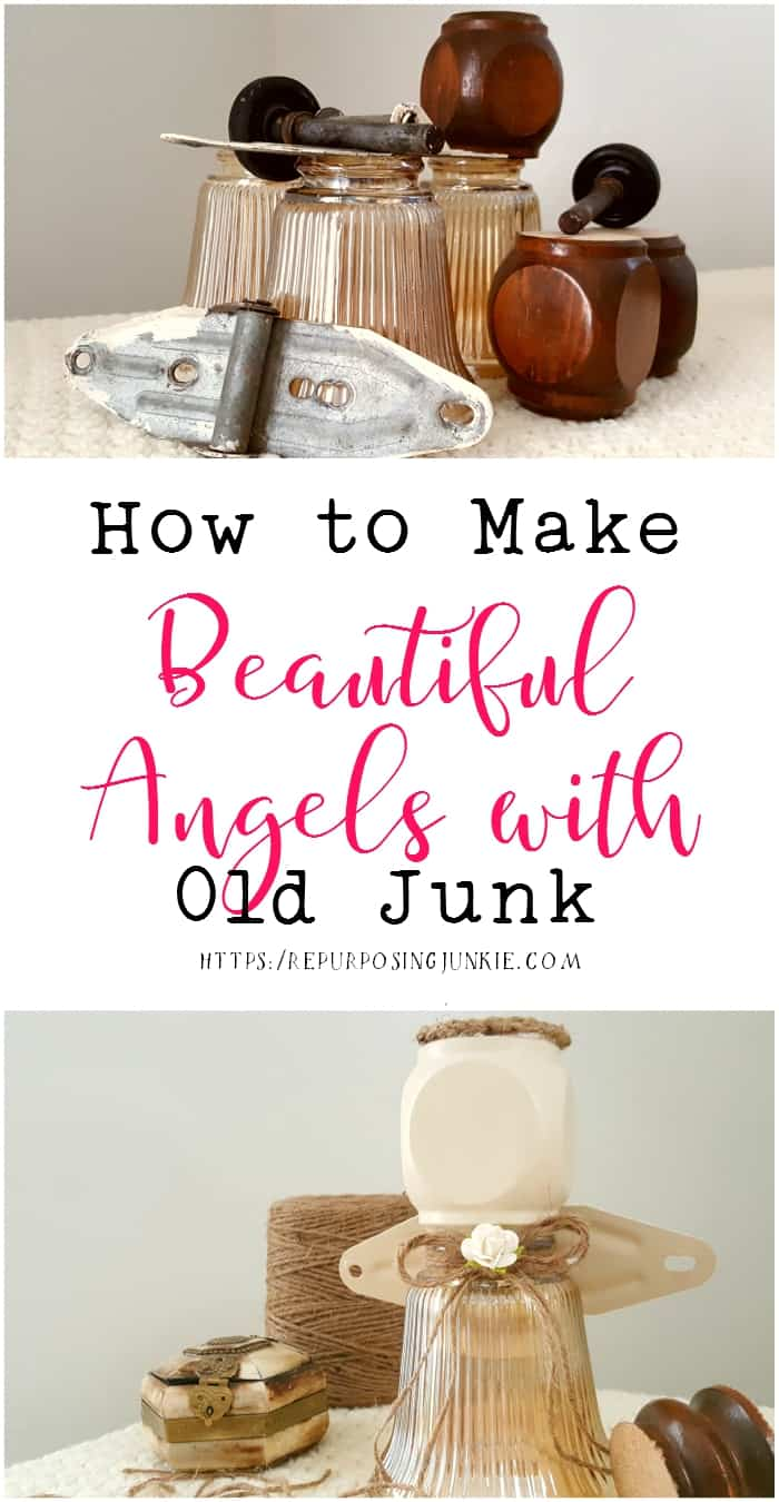 How To Make Beautiful Angels With Old Junk