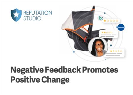 Negative Feedback Promotes Positive Change