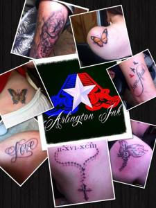 Hot Tatts in Arlington Texas…