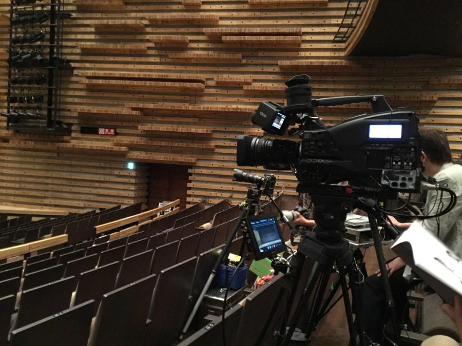 舞台ビデオ撮影