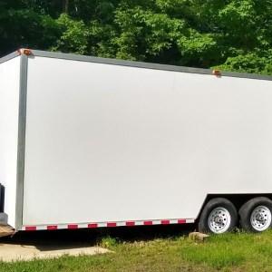 2015 20' Enclosed Cargo Trailer