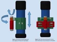 graphic of electrolarynx holder