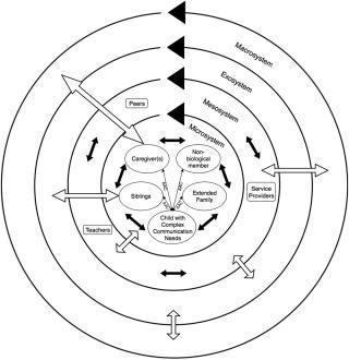 Chart of family systems framework