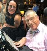 Krista Wilkinson and Bob Williams