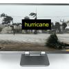 "VSD of hurricane with text ""hurricane"""