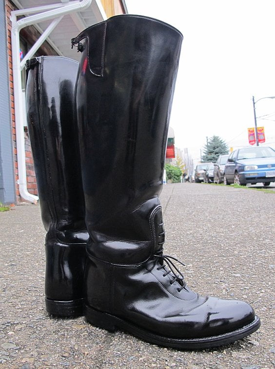 Police Beaut-ality… the Dehner Top Strap Patrol Boot