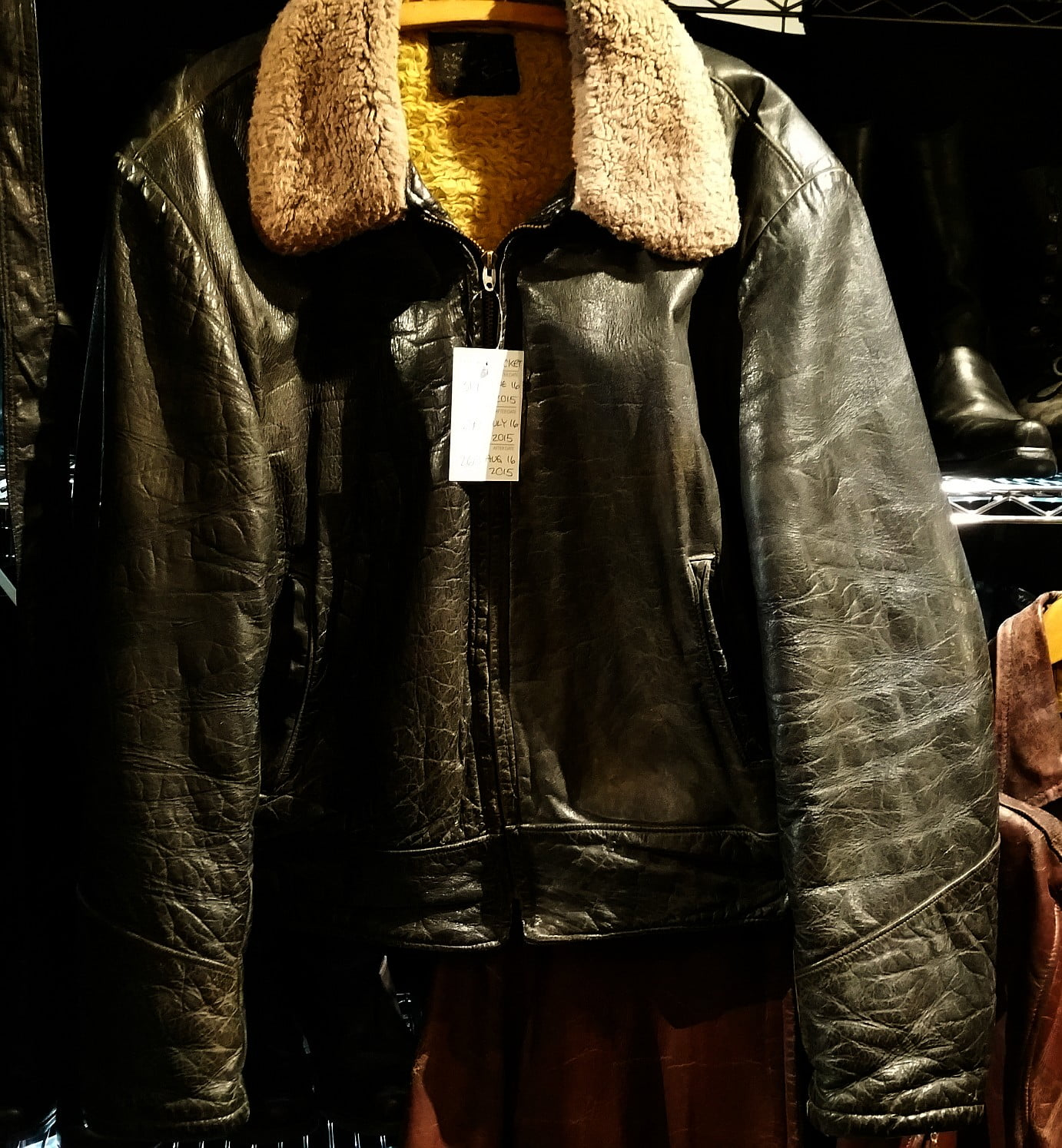 WWII Military Horsehide and Vintage Horsehide Things