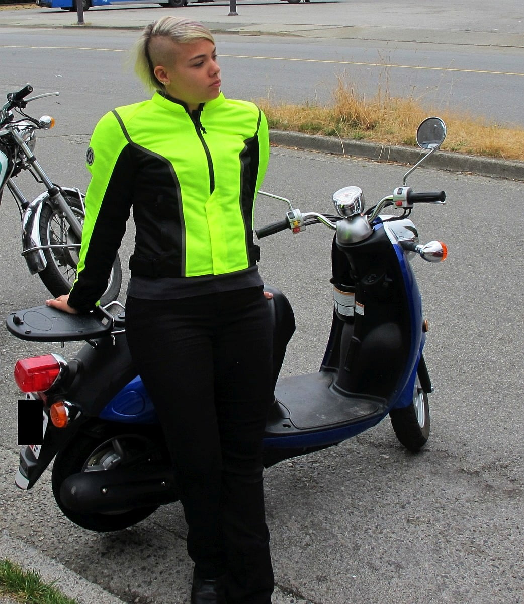 First Gear Contour Hi-Vis Mesh Textile Jacket (for the womensy people)