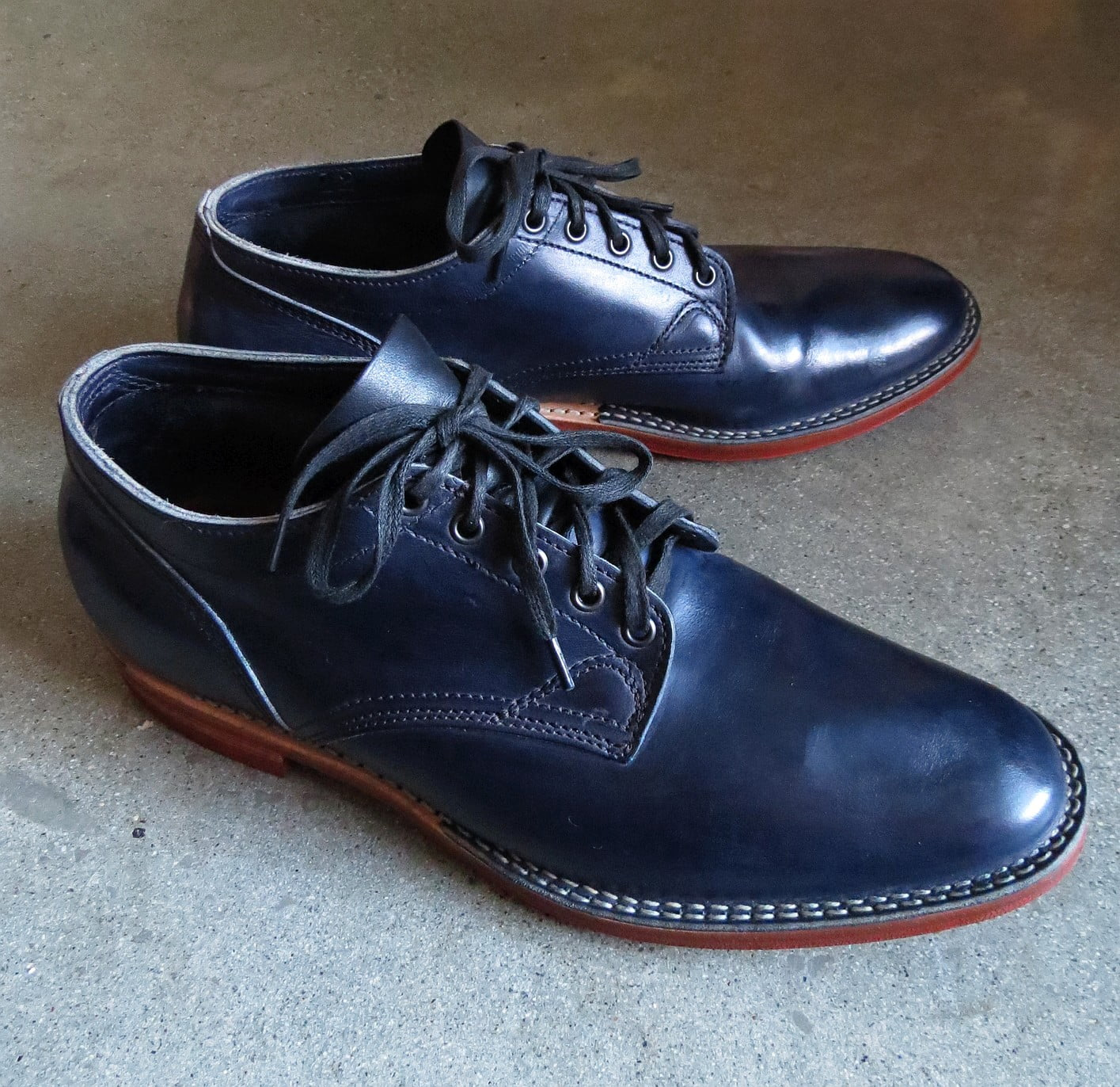 UPDATE: SOLD! Indigo Viberg Derby – Oxford Shoes Hells to the Yeah