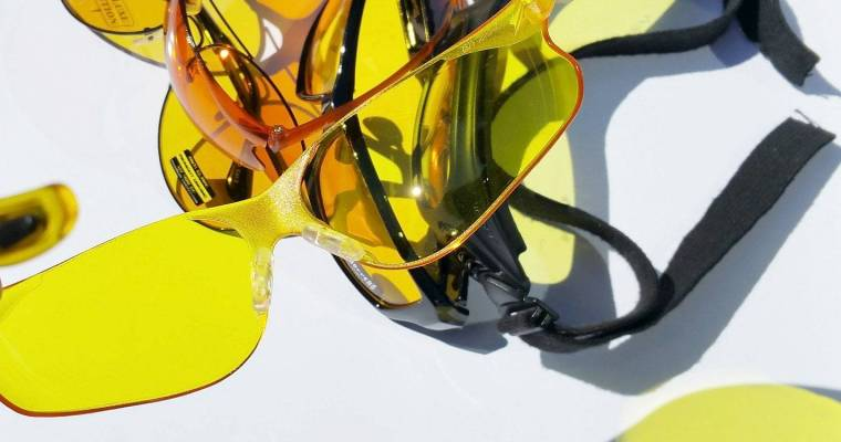 Sunshine-coloured eyewear