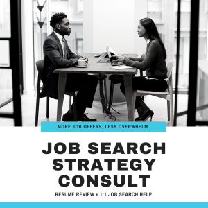 Image for Job Search Strategy Consult Services for Job Seekers