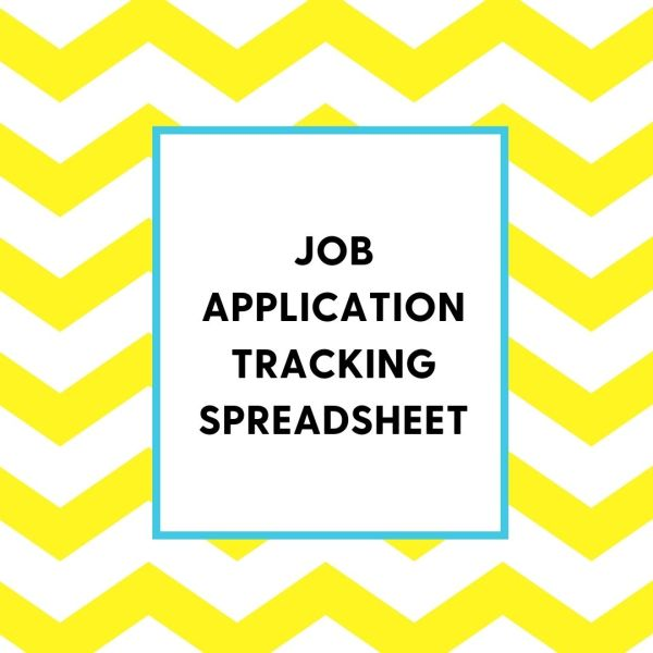 Job Application Tracking Spreadsheet