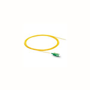 Pigtail SC/APC monomodale G652D semitight giallo 2 metri – Confezione 10 pezzi