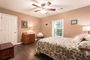 Roomy Second Master Bedroom with Walk-in Closet