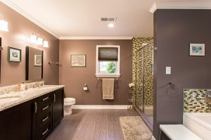 Spa-Inspired Master Bath With Stylish Finishes