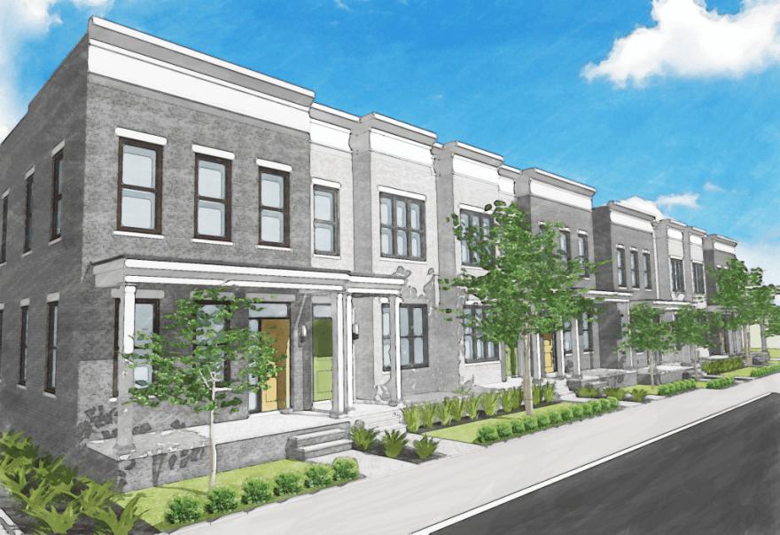 Huntt's Row New Construction Rowhomes | Fan District Richmond VA