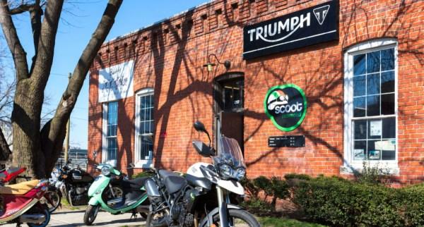 Triumph in Manchester Richmond Virginia