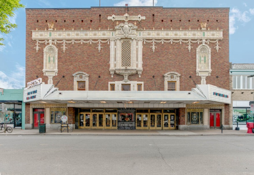 front of Carytown's Byrd Theatre