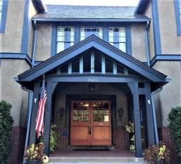 lewis ginter recreation association front door entrance