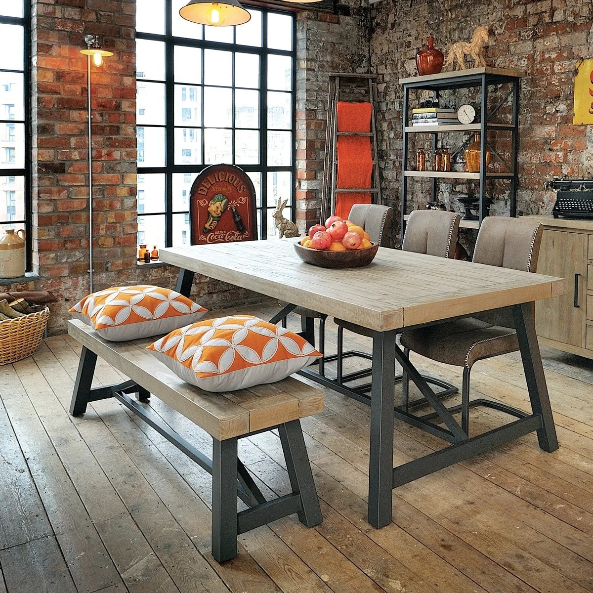 Hulstone Industrial Dining Table Was 163 899 00 Now 163 695 00