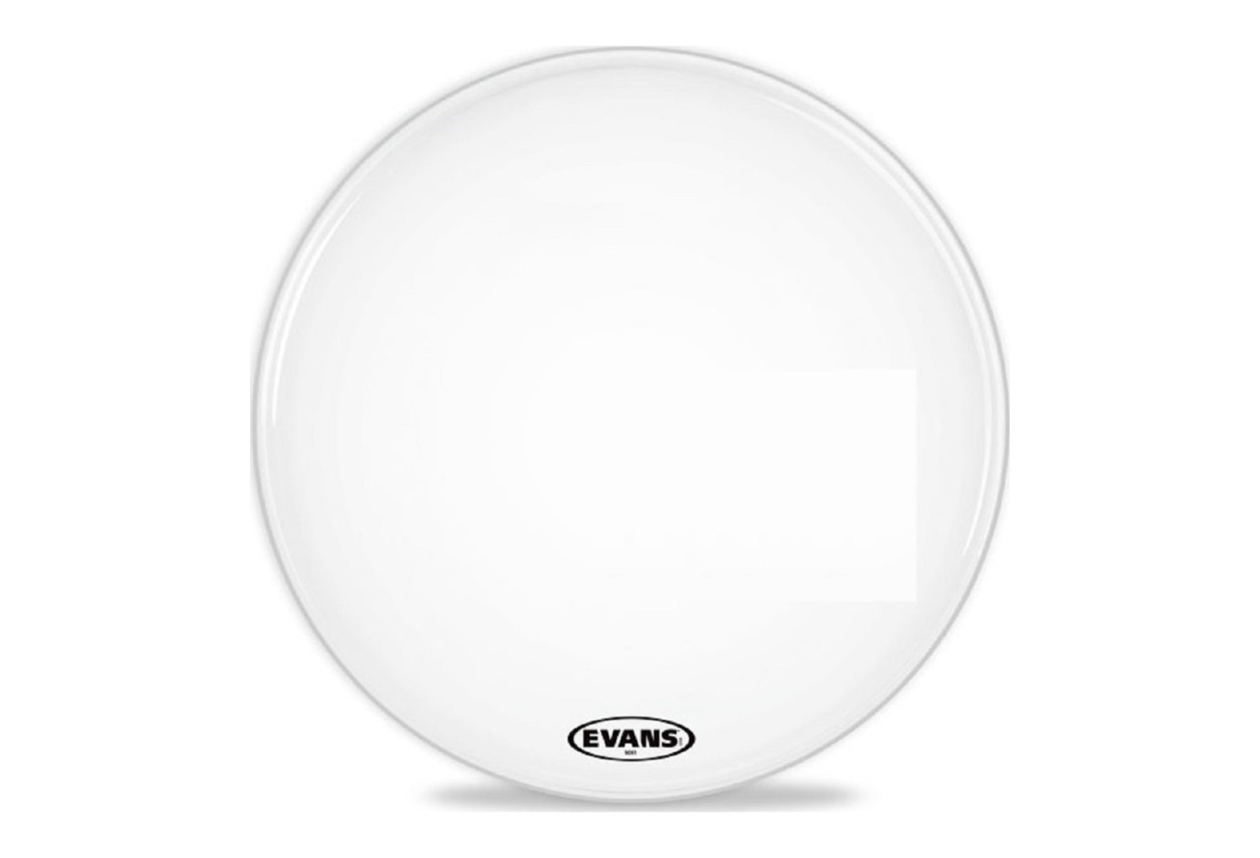 Evans Mx1 18 White Marching Bass Drum Head