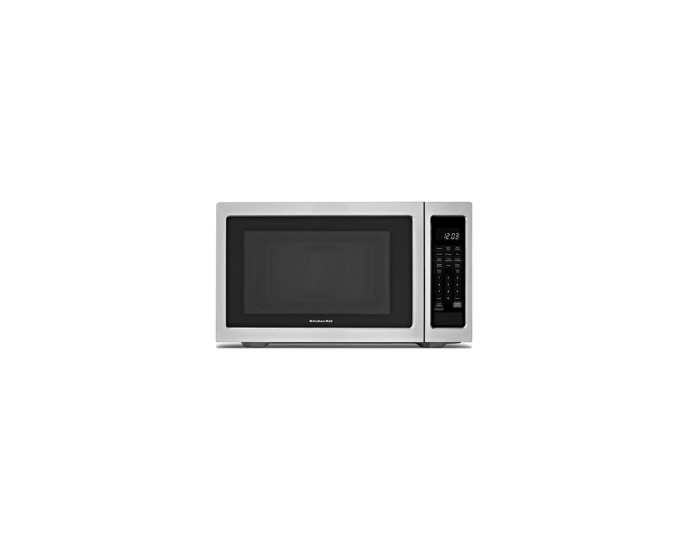kcms2255bss by kitchenaid countertop microwaves goedekers com