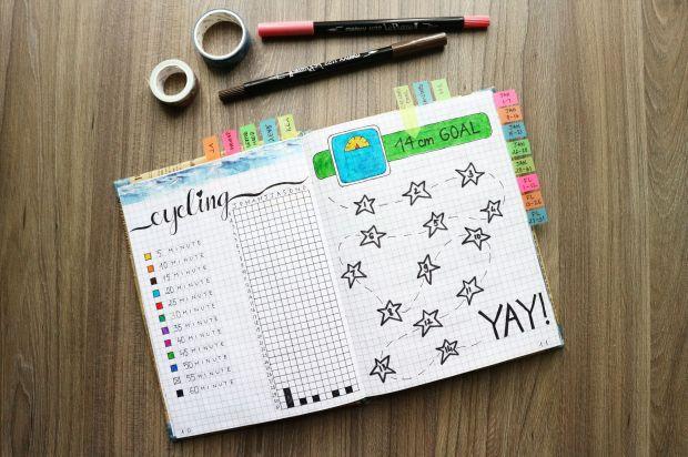 Hobby Bullet Journal Idea