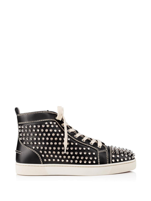 bc67618023d5 Christian Louboutin Backloubi Black Nylon Backpack – Italist.com US –   887.67 – Christian Louboutin Louis Calf spikes Sneakers ...