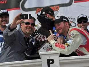 Pocono Mountains NASCAR Racetrack