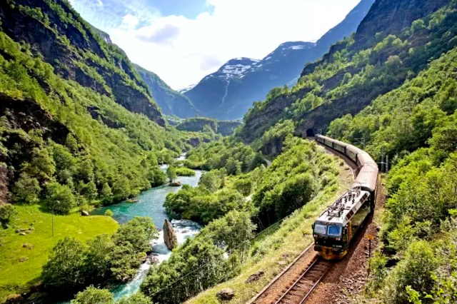 Image result for Bergen Railway, Norway
