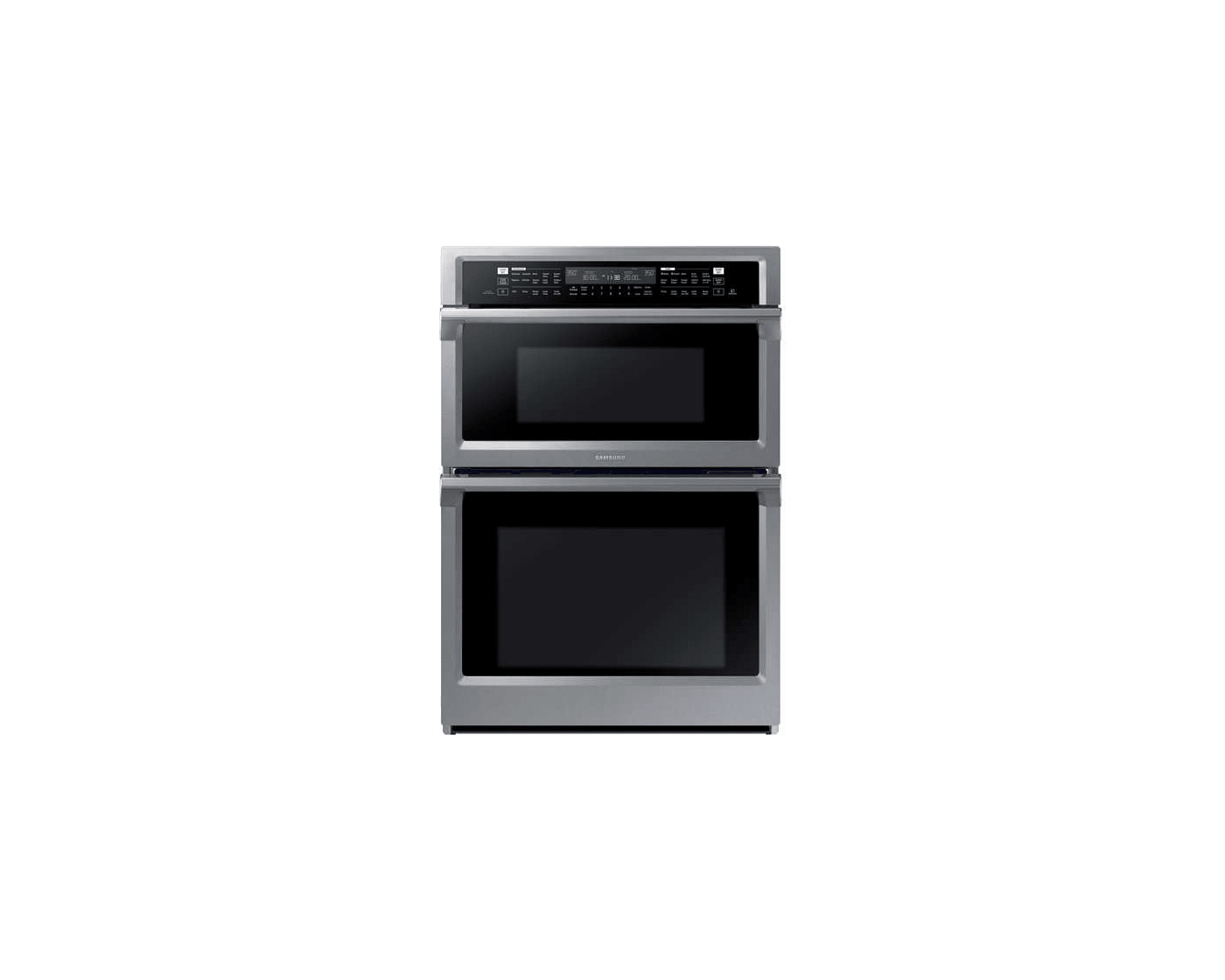 nq70m6650ds by samsung combination wall ovens goedekers com