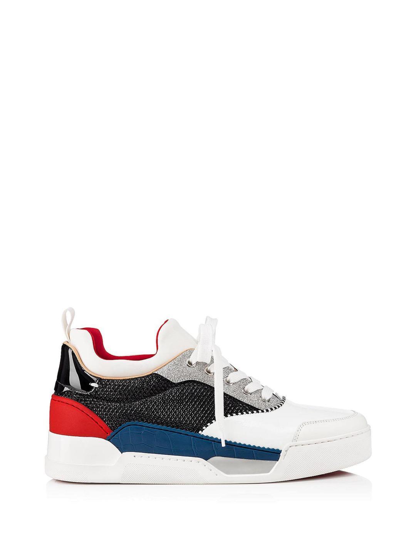 4c5c464196e8 Christian Louboutin Aurelien Calf glitter Diams Sneakers – Italist.com US –   911.31