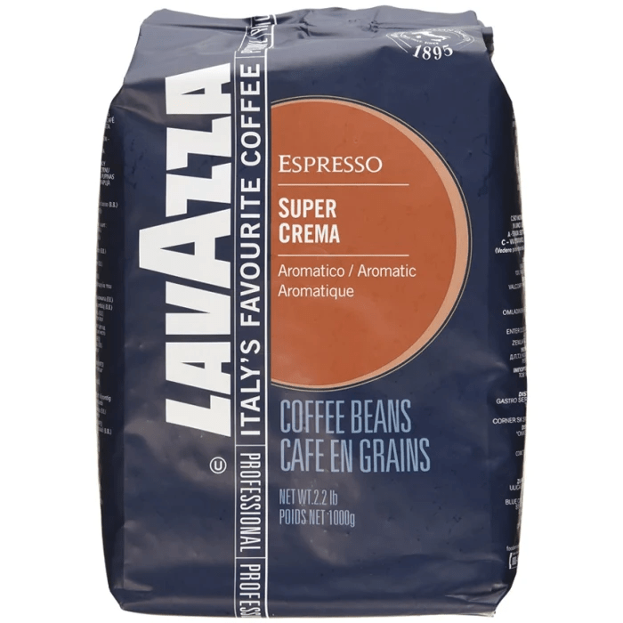 Beans Crema Coffee Super Lavazza
