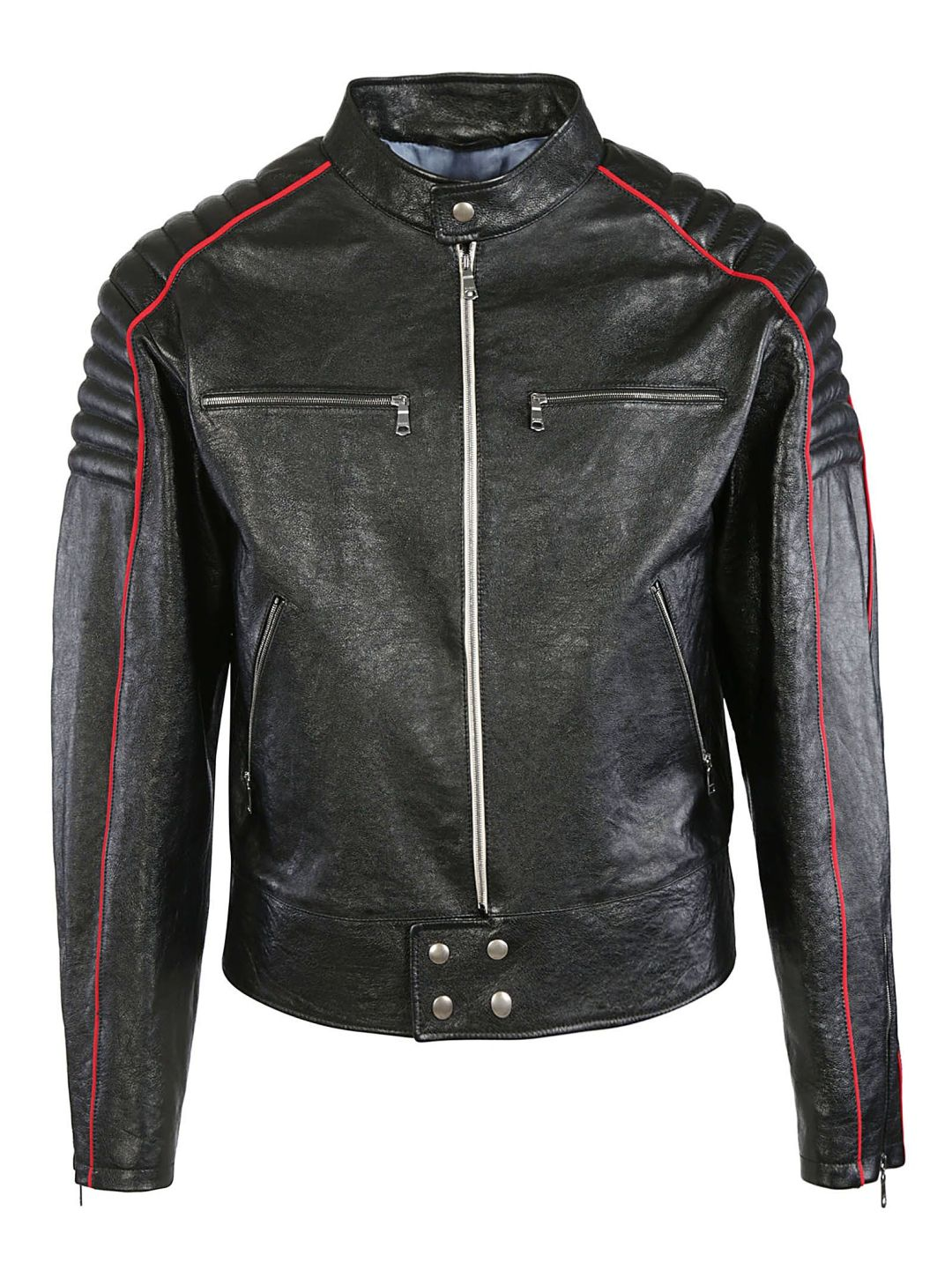 a4a6713f96e3b Gucci Logo Print Leather Jacket – Italist.com US – $4,445.32