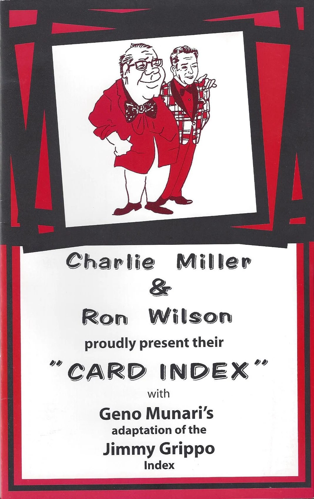 Grippo Card Index Houdini Magic