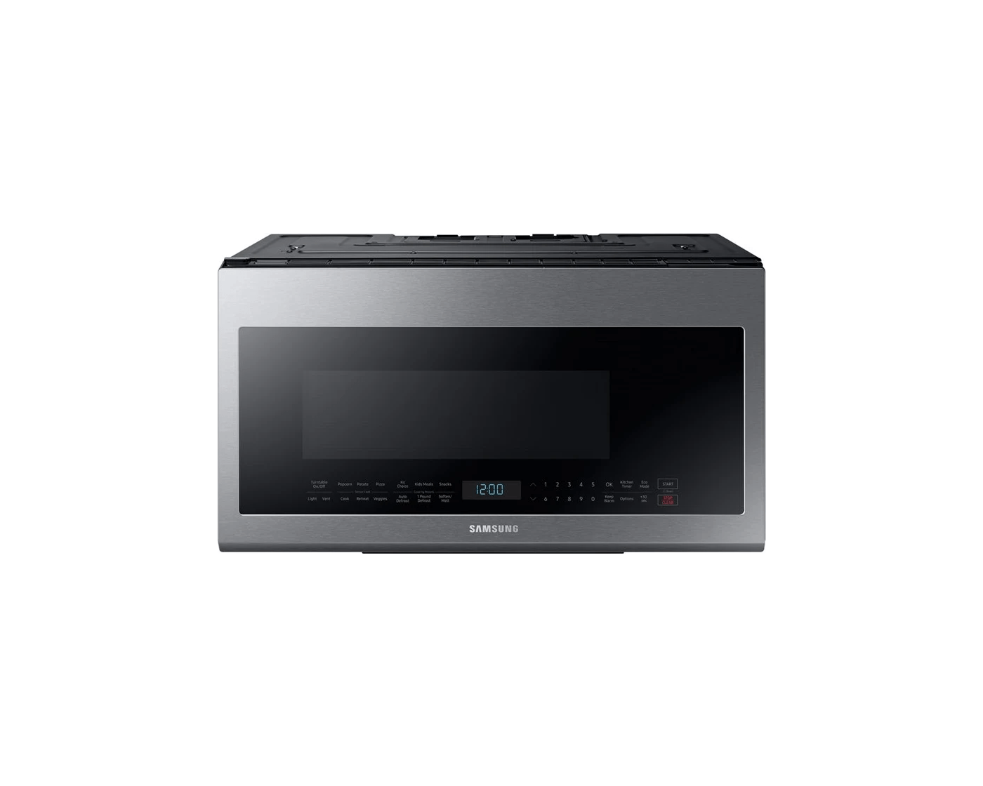 me21m706bas by samsung over the range microwaves goedekers com