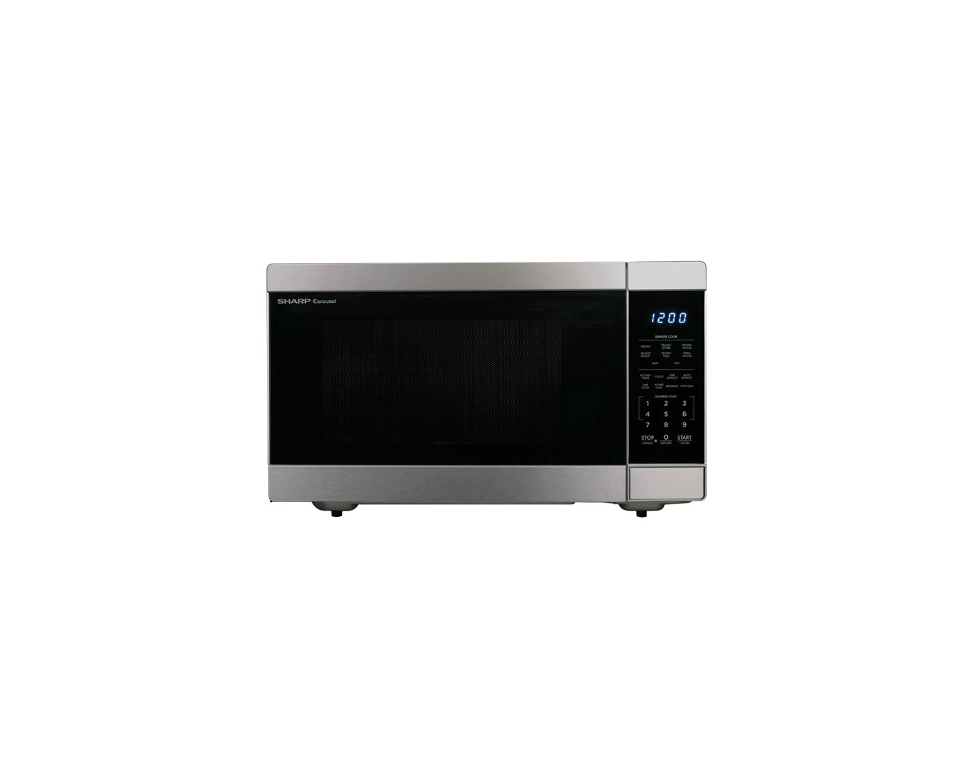 smc1662ds by sharp countertop microwaves goedekers com