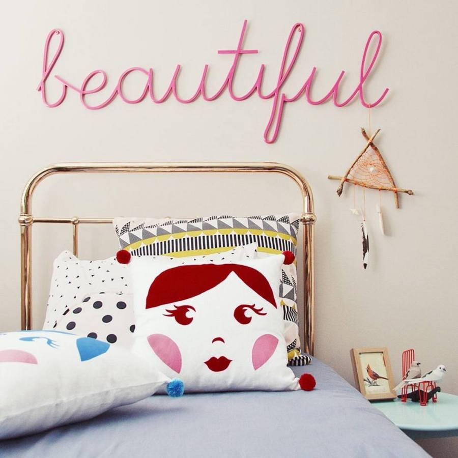 Add comfort and style to your kid's room with kids' decorative pillows! Decorate your space by adding a throw pillow (or two or three) to your room. These throw pillows are the perfect accent in any bedroom or playroom.