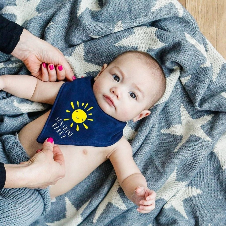 These cute neckerchiefs are an easy way to keep baby cool in the summer!