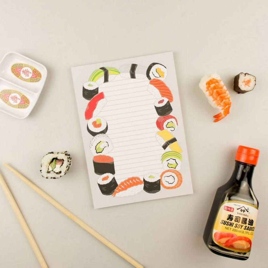 Is there any other food as amazing as sushi? It's healthy, tasty, and, of course, absolutely adorable to look at.